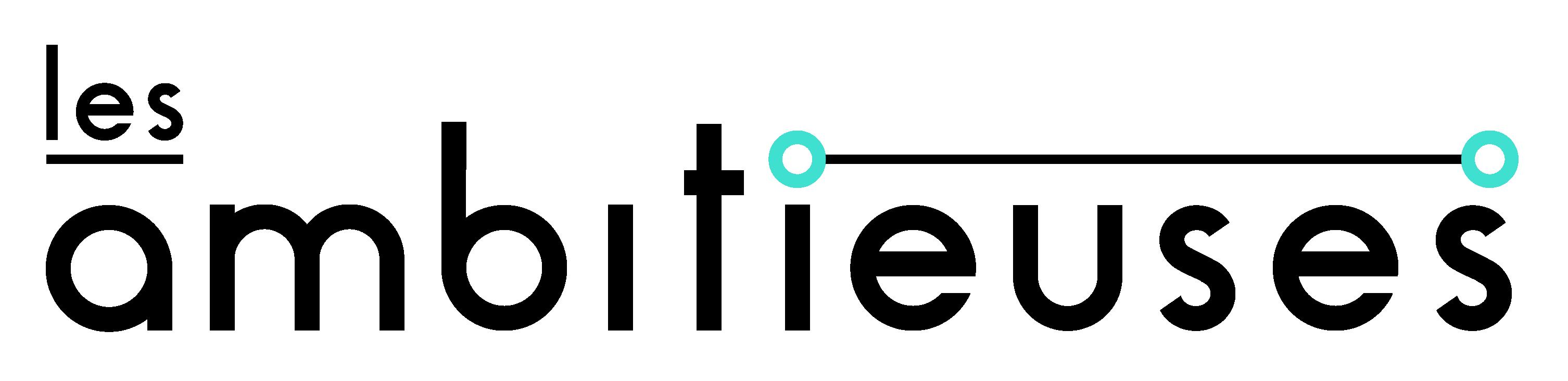 Logo-Les-Ambitieuses-noir-turquoise